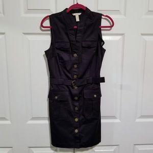 NWOT BANANA REPUBLIC Dress, Sleeveless Black